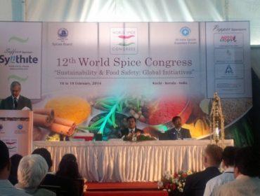 Webb James parteciperà al World Spice Congress in India