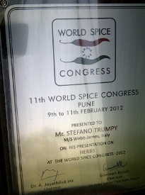 world spice congress 2012